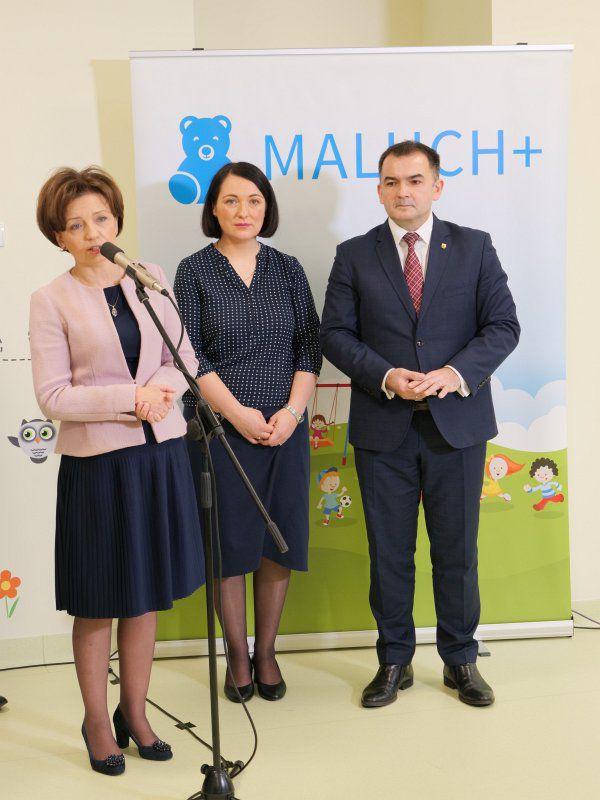 Wizyta Pani Minister w Żłobku - 23.01.2020