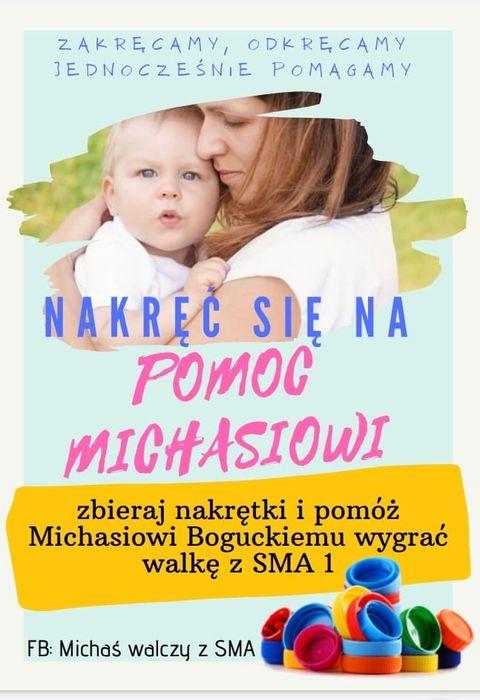 Zbieramy  dla Michałka Boguckiego