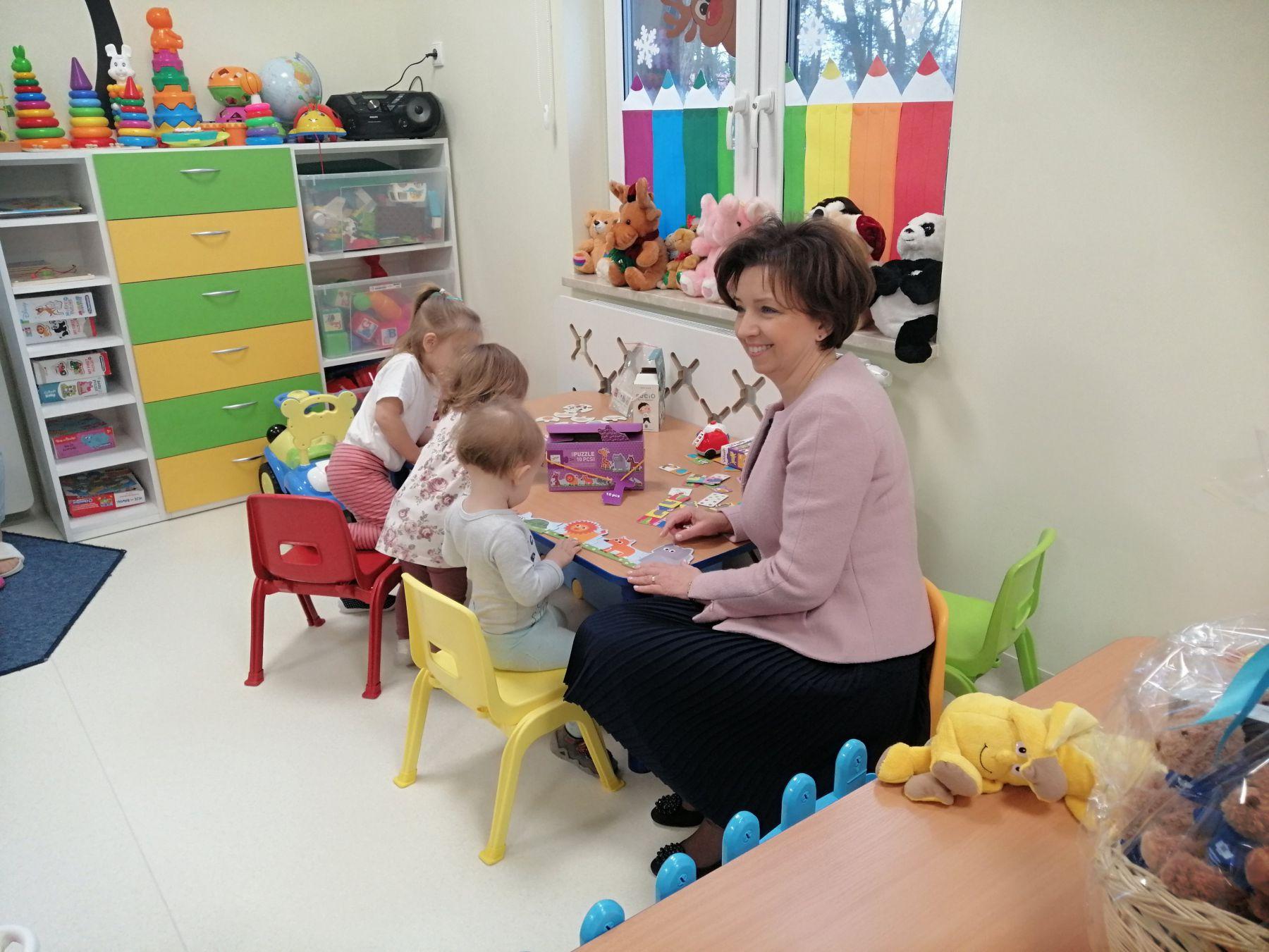 Wizyta Minister Rodziny