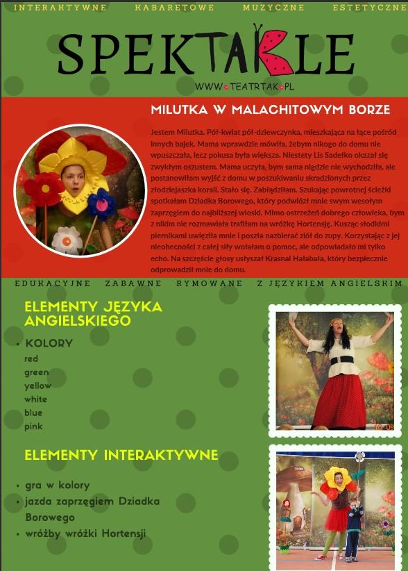 Teatr TAK w naszym Żłobku 13.02.